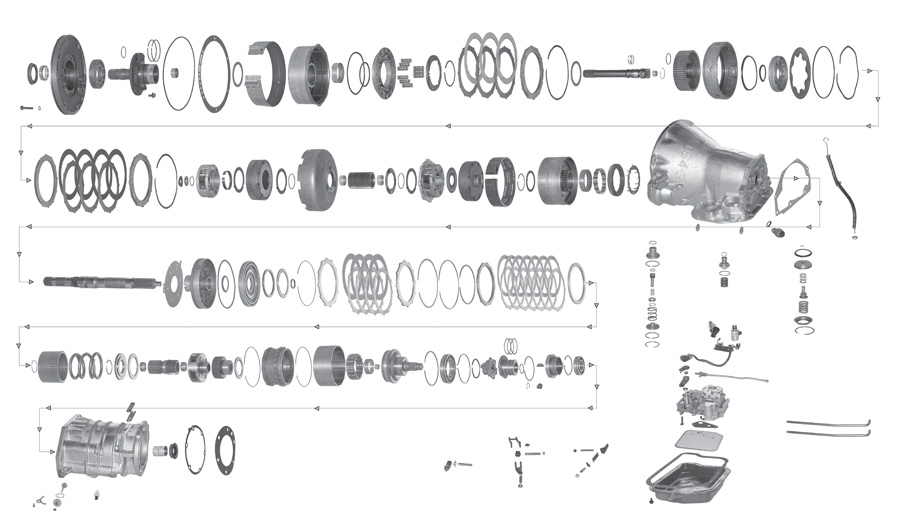 41te Transmission Exploded View  Engine  Wiring Diagram Images