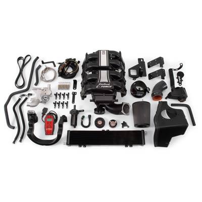 Pæn Kompressor-kit 478hk fra Edelbrock til Ford F150 2WD 5,4 V8 2009 QK17