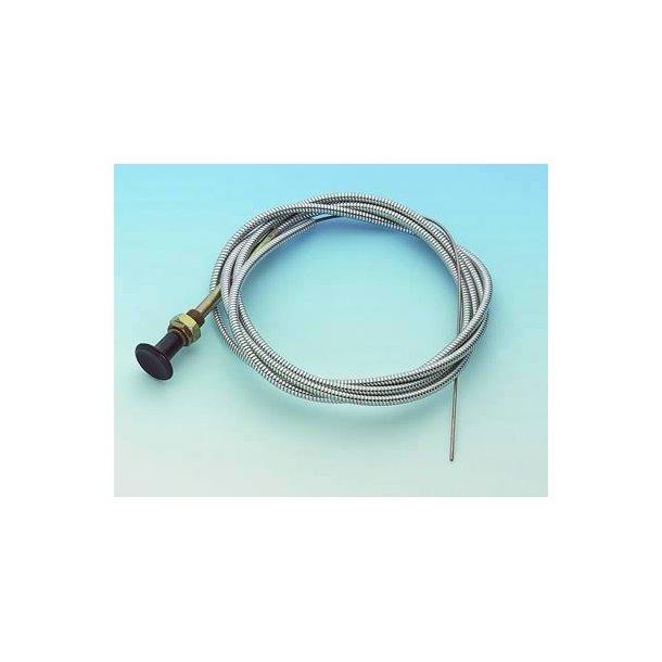 Choker kabel på længde 150 cm. (Choke Cable Mr. Gasket 2078 ...